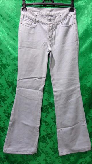 Calça Feminina Jeans Flare Marca Forum Cós Baixo Tm/36