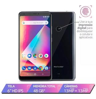 Smartphone Multilaser Ms60z 2gb 6 16gb Nb741+micro Sd 32gb