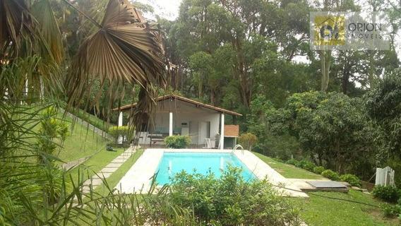 Chácara Com 4 Dormitórios Para Alugar, 5800 M² Por R$ 4.790/mês - Quintas Do Ingaí - Santana De Parnaíba/sp - Ch0056