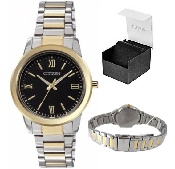 Reloj Citizen 60543 El3064-57e Mujer Combinado *watchsalas*