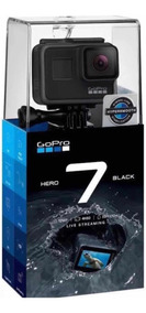 Câmera Digital Gopro Hero 7 Black 4 K Wifi Original+brinde