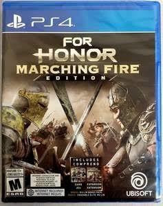 For Honor Marching Fire - Mídia Física - Ps4 - Novo