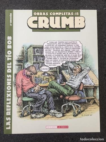 Imagen 1 de 4 de Obras 15 - Reflexiones Del Tío Bob, Crumb, La Cúpula