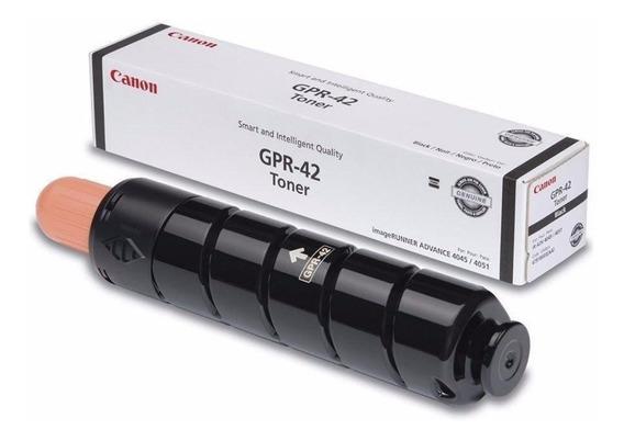 Toner Canon Gpr 42 Preto 4791b003ab