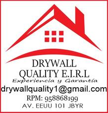 Drywall Qualiy Eirl - Instalación Y Reparaciones