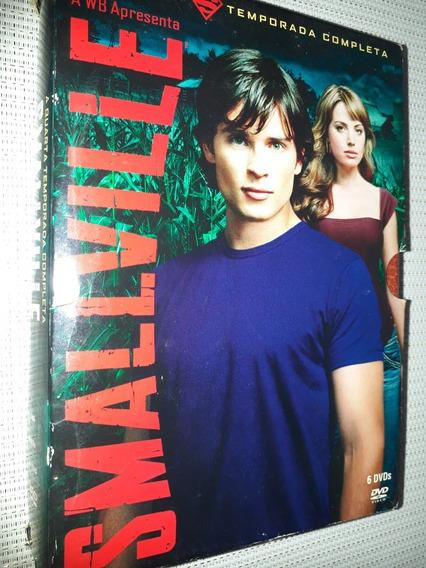 Box Smallville - A 4° Temporada Completa 6 Discos (2354 )