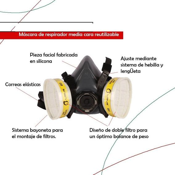 Mascarilla, Mascara De Con Filtro, Mascarillas,mascara