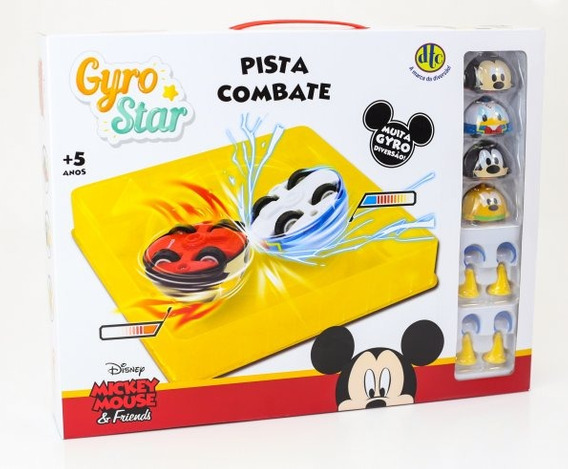 Pista Combate Gyro Star Mickey Mouse And Friends 4916 Dtc