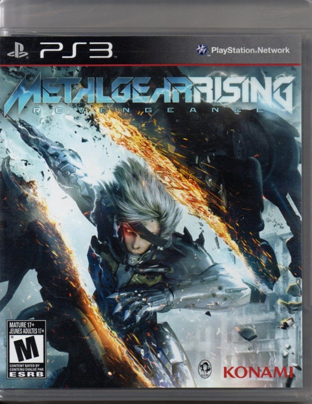 Metal Gear Rising - Midia Fisica Original Novo - Ps3