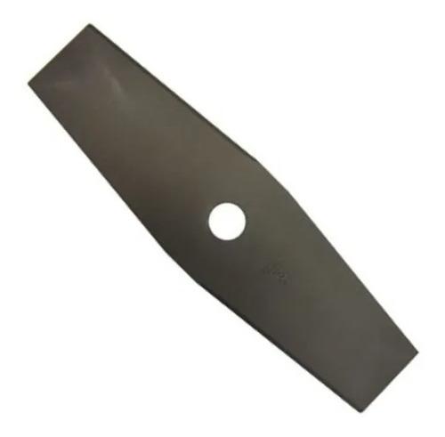 Imagem 1 de 1 de Lamina Reta 2p Roçadeiras 200mm(8 ) X 1,6mm X 25,4(1 )