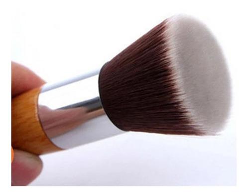 Brocha Bambú Maquillaje Polvo Ro - Unidad a $20000