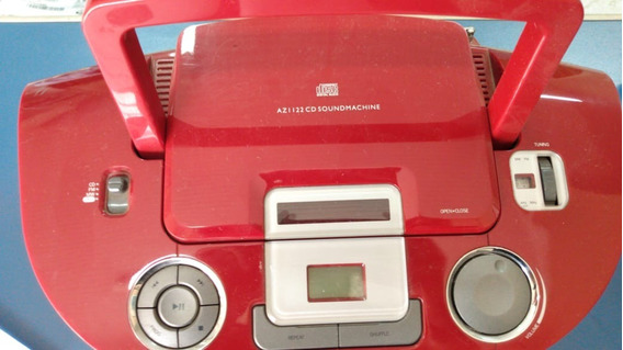 Philips Soundmachine Bivolt Am/fm Cd Az 1122