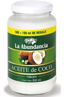 Aceite De Coco Virgen 600 Ml