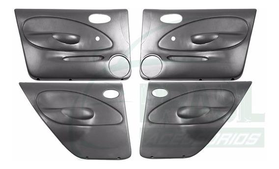 Kit 4 Forros Porta Revestimento Fiesta 4 Portas 96/02 Manual
