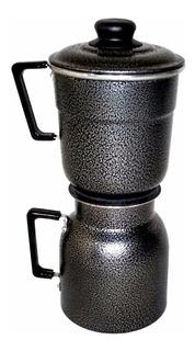 Cafeteira Econômica 1,5 Litros Aluminio Craquelado 4pç