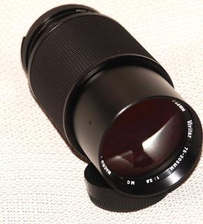 Lente-montura-nikon-75-2o5mm-la Cámara No Esta-incluida,!!!