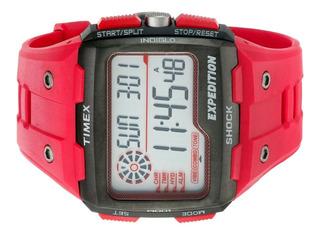 Reloj Timex Hombre,shock Resistant,sumergible,crono Alarma.