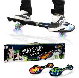 Skate Montado Profissional Infantil Articulado Duas Rodas