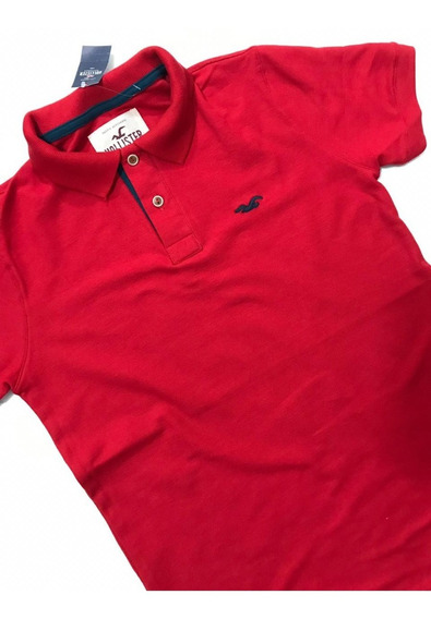 Lote 5 Tipo Polo Aero, Hollister, Tommy Y Ae, Caballero.