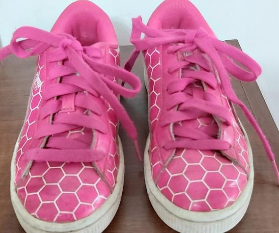 Zapatillas Puma Modelo Basket Nena. Usada. Muy Buen Estado.