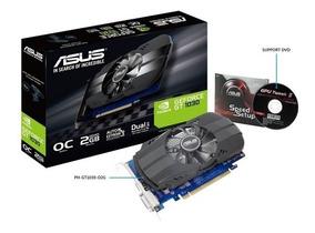 Placa De Vídeo Nvidia Asus Gt1030 2gb Ddr5 64bit Hdmi Dvi -