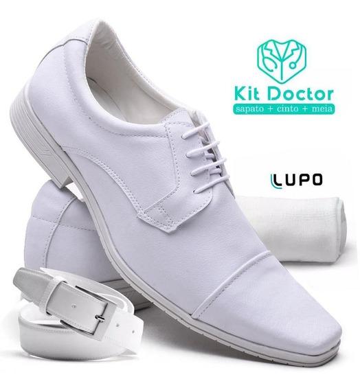 Kit Sapato Social Masculino Branco Versales
