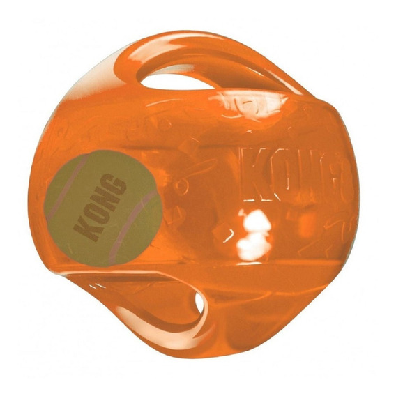 Brinquedo Cachorro Kong Jumbler Ball Large/x-large Laranja