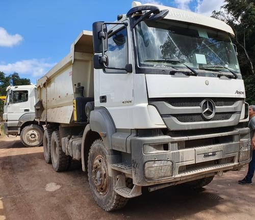 Imagem 1 de 15 de  Mercedes-benz Axor 4144 6x4 Ano 2020 Traçado Caçamba