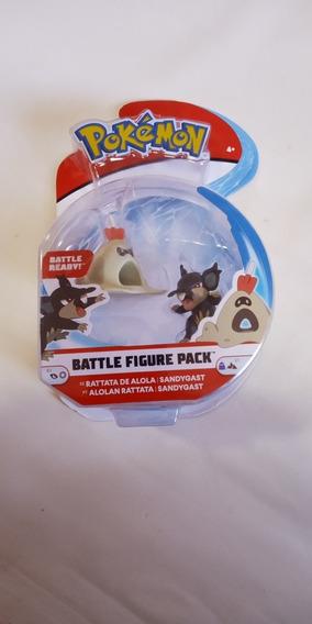Figura Pokémon Battle Figure Pack Rattata Y Sandygast