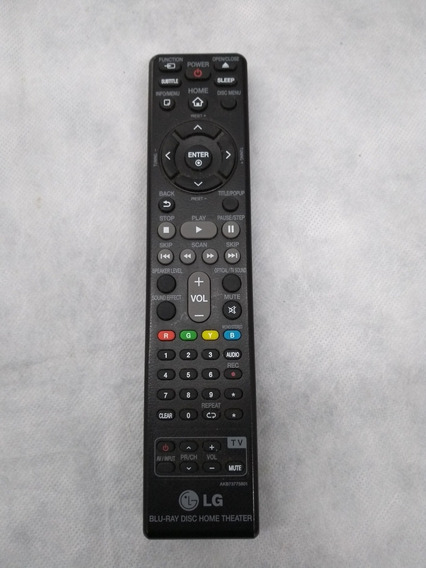 Controle Remoto Lg Bh4030 Akb73775801 Home Theater Lg