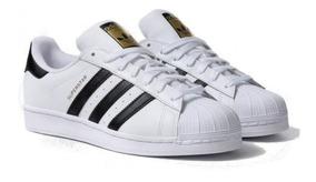 Tenis adidas Superstar Originals De Concha Modelo Clásico