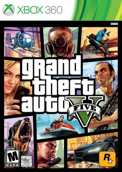Grand Theft Auto V Gta 5 - Midia Fisica - Português