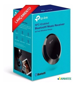 Receptor De Áudio Bluetooth Music Receiver Tp-link Ha100 V2