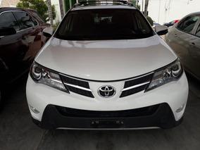Toyota Rav4 2.5 Xle L4 2015 Blanca