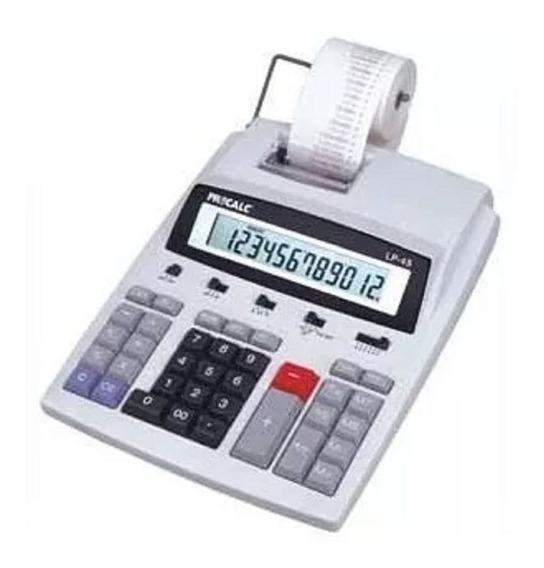 Calculadora De Mesa C/ Impressão Bivolt Bobina Lp45 Procalc