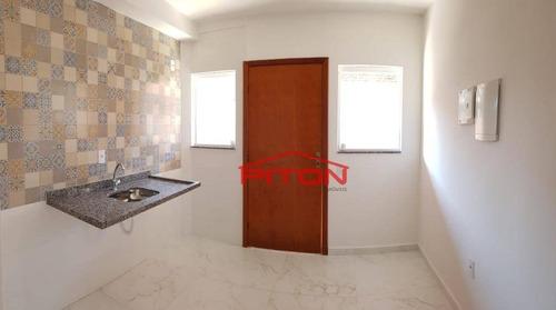 Apartamento Com 1 Dormitório À Venda, 31 M² Por R$ 195.000,00 - Vila Esperança - São Paulo/sp - Ap1652