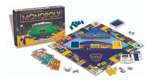 Imagen 1 de 1 de Juego Mesa Monopoly Futbol Boca Original Toyco