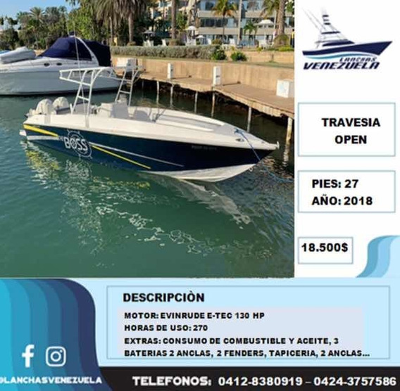 Lancha Travesía Open 27 Lv269