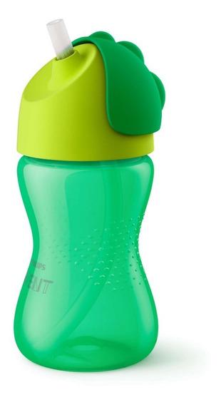 Vaso Bebe Straw Cup Sorbete Antiderrame Phillips Avent 300ml