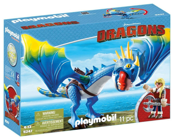 Playmobil Como Treinar Seu Dragão Astrid E Tempestade 9247