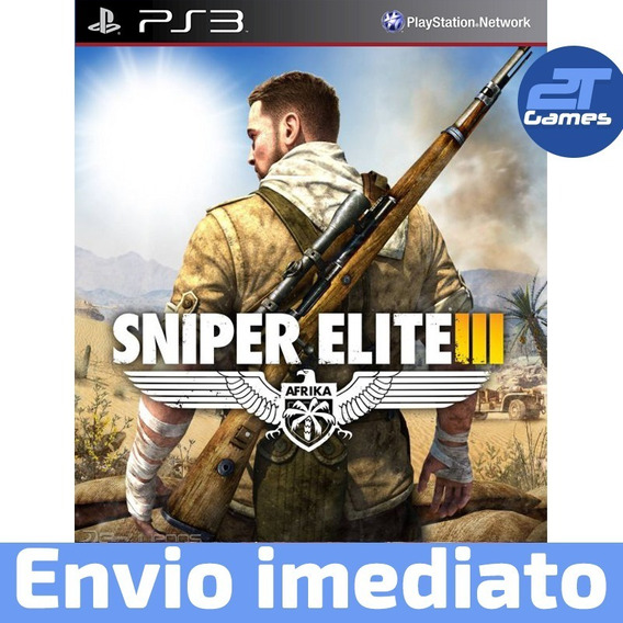 Sniper Elite Iii Psn Ps3 Jogo Digital Pronta Entrega
