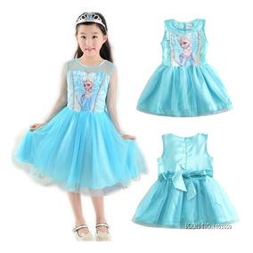 Vestido Disney Store Frozen Elsa