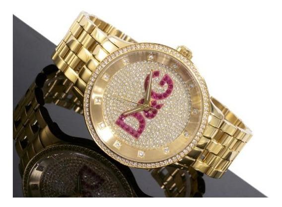 D&g Dolce & Gabbana Relogio Unissex Dw0377 Mod. Do Neymar