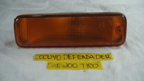 Imagen 1 de 3 de Cocuyo Defensa / Bomper Daewoo Tico