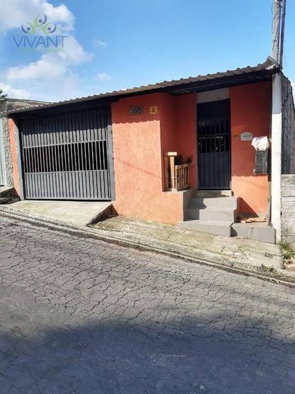 Sobrado Com Piscina E Churrasqueira À Venda, 155 M² Por R$ 430.000 - Cidade Edson - Suzano/sp - So0190