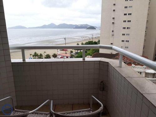 Flat Para Venda Com 1 Dormitório, Boqueirão, Santos - V12949