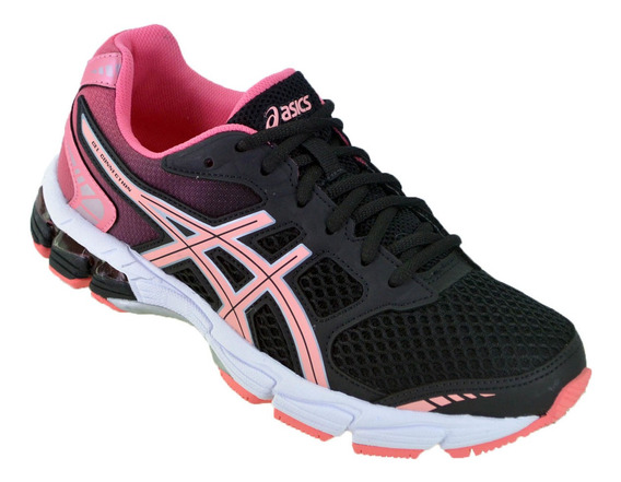 Zapatilla Mujer Asics Gel Connection Original Runing Negro