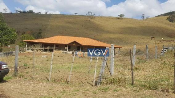 Chácara Com 3 Dormitórios À Venda, 4133 M² Por R$ 220.000,00 - Serra Do Cabral - Cambuí/mg - Ch0013