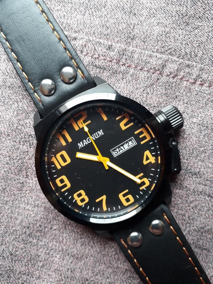 Relógio Magnum Soviet Pvd - 47mm - Quartz - Impecável !!!