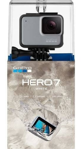 Câmera Digital Gopro Hero 7 10.1mp Com Wi-fi Branca